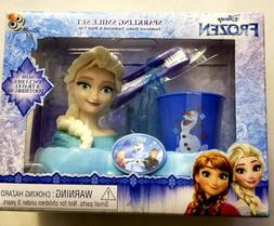 NEW-Toothbrush-Sparkling-Smile-Set-Disney-FROZEN-ELSA-Holder