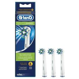 NEW Value Pack Braun Oral B CROSS ACTION Replacement Electri