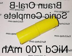 NEW NiCD Battery 700mAh Braun Oral-B Sonic Complete Toothbru
