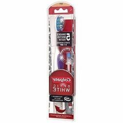 Colgate Optic White Toothbrush and Teeth Whitening Pen, Soft