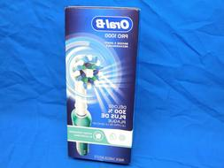 Oral-B 1000 CrossAction Electric Toothbrush Green Powered by