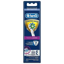 Oral-B CROSS ACTION 3 Replacement Toothbrush Heads BRAND NEW