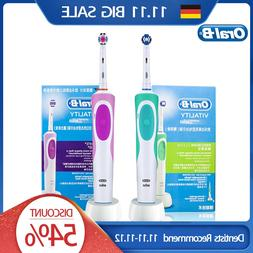 Oral B Electric <font><b>Toothbrush</b></font> Rotating Vita