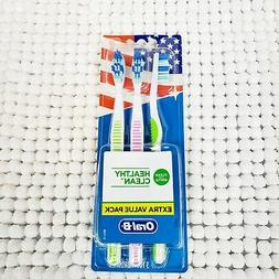 Oral B Healthy Clean Manual Toothbrushes, Extra Value Pack,