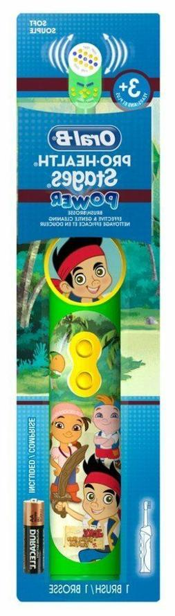 Oral-B Kids Jake & the Neverland Pirates Battery Power Tooth