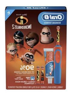 Oral-B, Kids Rechargeable Electric Toothbrush Gift Set, Disn