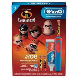 Oral-B Kids Rechargeable Electric Toothbrush Incredibles 2 G