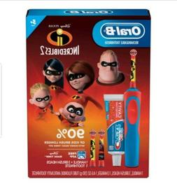 Oral-B Kids Rechargeable Electric Toothbrush Set Incredibles