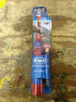 ORAL-B Power Electric Toothbrush Disney Cars Kids Boys Oral