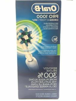 Oral-B Pro 1000 Cross Action 3D Action Rechargeable Toothbru