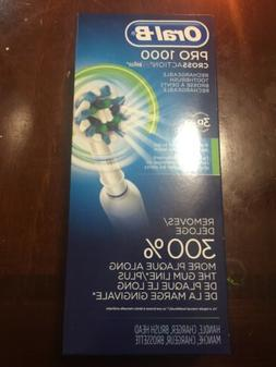 Oral-B Pro 1000 CrossAction Braun Rechargeable Electric Toot