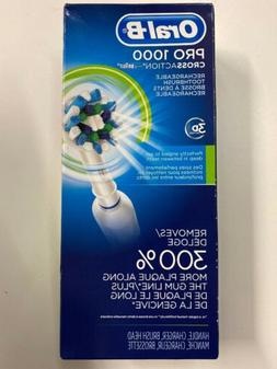 Oral B Pro 1000 Crossaction Electric Rechargeable Toothbrush