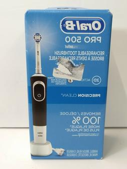 Oral-B Pro 500 Electric Rechargeable Toothbrush with Precisi