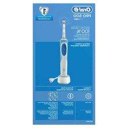 Oral-B Pro 500 Power Rechargeable Electric Toothbrush Powere