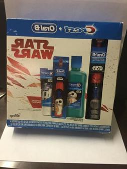 oral b star wars electric toothbrush set