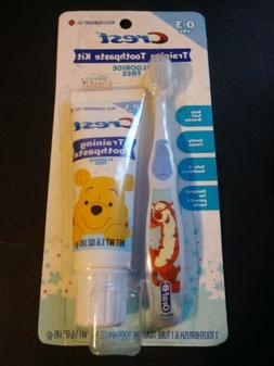"CREST ORAL-B TRAINING TOOTHPASTE KIT FLUORIDE FREE ""DISNEY B"