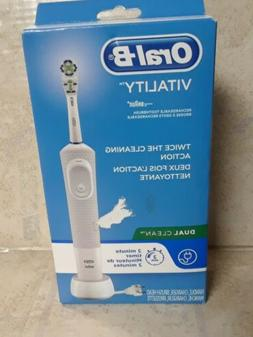 Oral-B Vitality Floss Action Rechargeable Toothbrush, Dual C