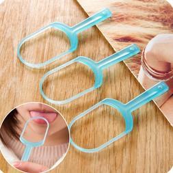 Oral Care Tongue Cleaner Scraper Tongue Clean Brush Scraping