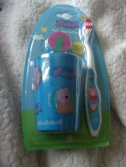 Brush Buddies PEPPA PIG George Toothbrush Set Soft 3 Piece K