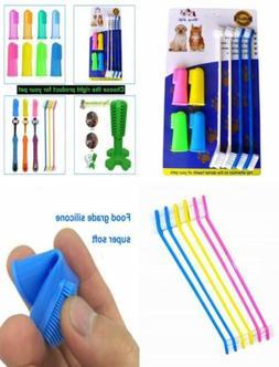 RosyLife Pet Dog Soft Toothbrush Food grade material pet too