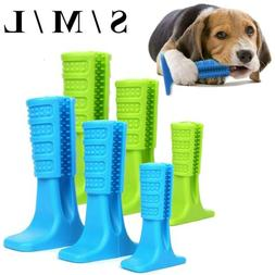 Pet Dog Toothbrush Dental Care Brush Chew Grinding Toy Clean