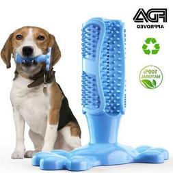 Pet Toothbrush Dog Brushing Stick Dog Pet Oralcare Teeth Cle