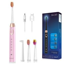 Fairywill Timer Electric Toothbrush FW-508 Rechargeable with