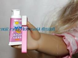 Pink Toothbrush + Toothpaste 18 in Doll Clothes Accessory Fi