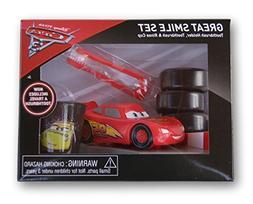 Disney Pixar Cars Toothbrush, Toothbrush Holder, Rinse Cup G