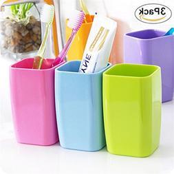 Hineway Plastic Bathroom Rinsing Mug Tumbler Water Cup Tooth