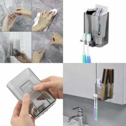 Linkidea Plastic Toothbrush Holder Wall Mounted Bathroom Mir
