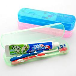 1PC Toothbrush Cover Case Holder Storage box Plastic Travel