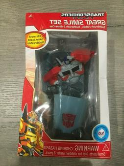 Transformers Prime Great Smile Toothbrush Holder & Rinse Cup