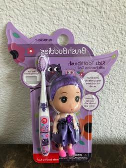 Purple Brush Buddies Toothbrush with Fashion Doll!