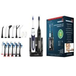 Pursonic S522 Dual Handle Sonic Toothbrush Plus 12 Replaceme