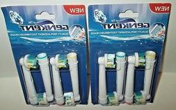 Genkent Quality Replacement Electric Power Toothbrush Heads