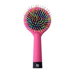 1pcs Rainbow Brush Hair Combs Airbag Anti Static Tangle Hair