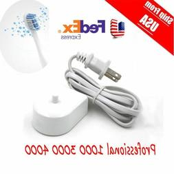 replacment electric toothbrush charger model 3757
