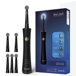 Fairywill Rotary Electric Toothbrushes Rechargeable USB 2 To