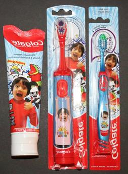 Ryan's World Colgate Kids Toothpaste | Battery Powered Tooth