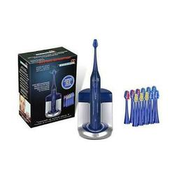 Pursonic S450 Deluxe Sonic Toothbrush with 12 Brush Heads an