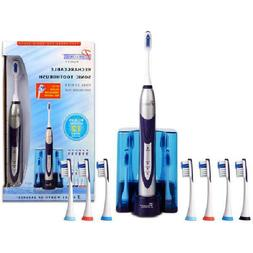 Pursonic S500 Deluxe Plus Sonic Toothbrush- Includes 12 Brus