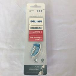 Genuine Philips Sonicare Sensitive replacement toothbrush he
