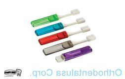 SET x 18 Travel V-Trim Toothbrush  Item 00122 Plak smacker /