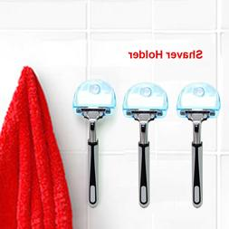 Shaver Toothbrush Holder Washroom Wall Sucker Suction Cup Ho