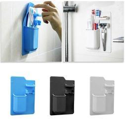Silicone Toothbrush Holder Bathroom Organizer Toothpaste Raz