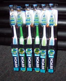 SIX NEW REACH COMPLETE CARE TRIPLE ANGLE PRO TOOTHBRUSHES  -