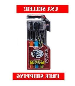 Colgate Slim Charcoal Toothbrush 17 x Slimmer Soft Bristles