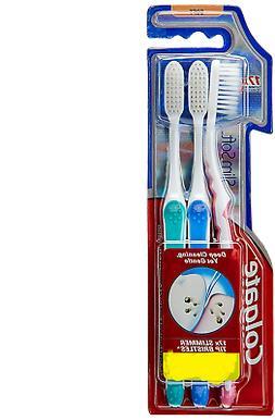 Colgate SlimSoft Toothbrush SOFT 17X SLIMMER TIP Bristle Dee