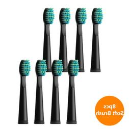 Soft Electric Toothbrush Replacement Heads 8pcs for Fairywil